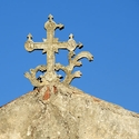 Church top in Spilia, Crete