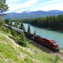 Freight Train, Canadian Rockies
