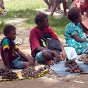 market at Kavieng New Ireland