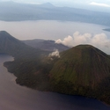 Rabaul from the air, East New Britain