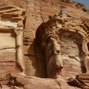 ERODED BUILDINGS, Petra