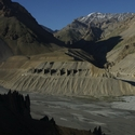 SPITI VALLEY LANDSCAPE