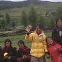 Locals expecting a llama, Daocheng